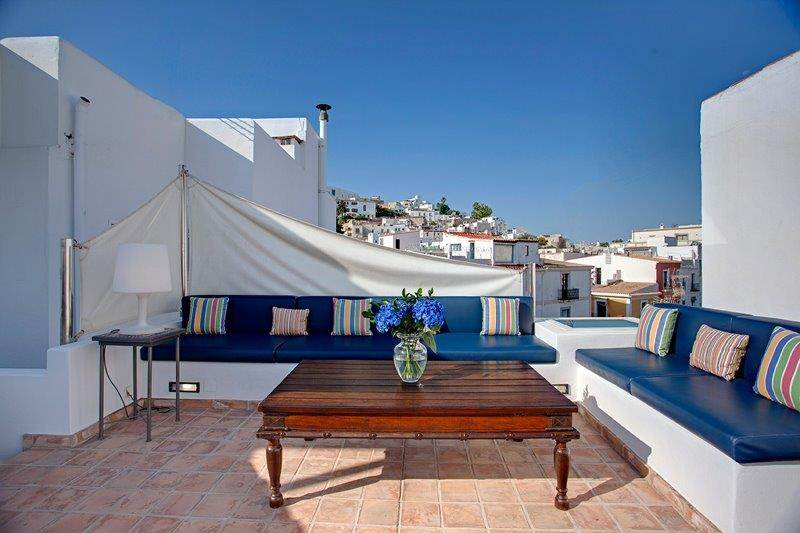 Luxury rustic 4 bedroom house in La Marina - Ibiza for sale