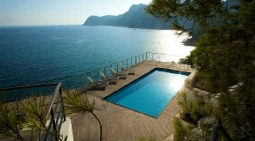 Luxury Villa First line of Es Cubells for sale