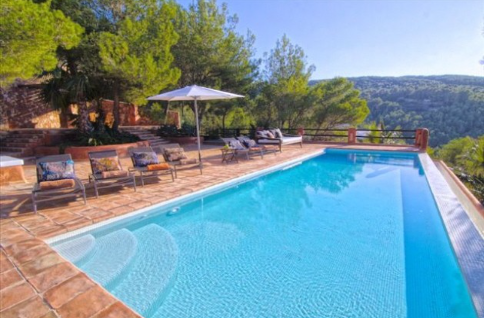 Super cosy villa with amazing sea views and rental license close to the village of San Miguel