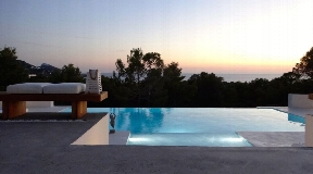 Very chic mansion in cala tarida with fabulous sea views