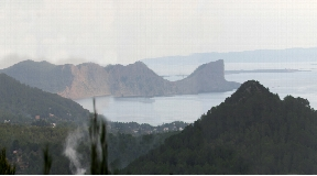 Amazing plot with fantastic views ad with licence to build a villa