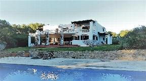 Ibiza style villa in the north of the island