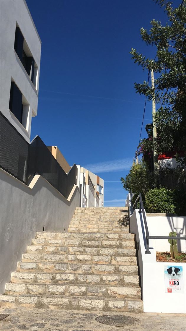 Highend 3 level complex in Ibiza town single or duplex available