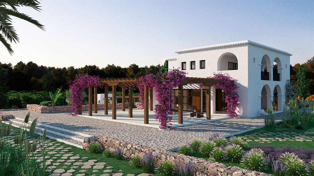 Amazing Blakstad project with licence for sale in Can Puig d'en Rich