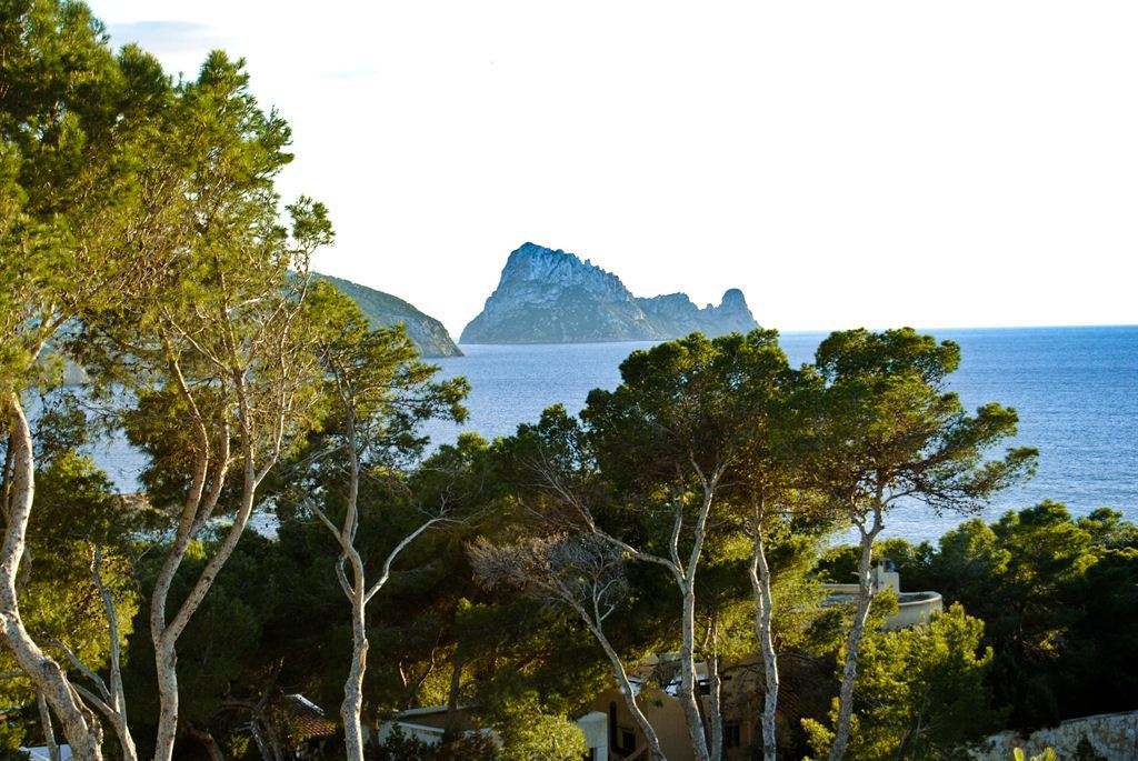 wonderful newly built villa for sale with views to Es Vedra