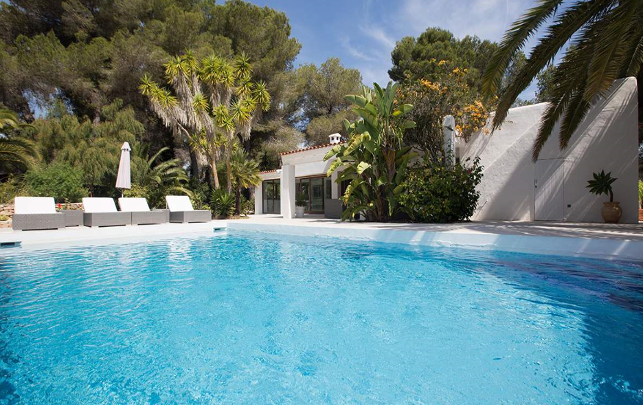 Extraordinary newly rebuild luxury detached villa in Can Furnet near Ibiza