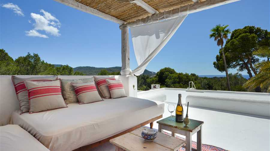 Amazing renovated sea facing villa in Ibiza Cala Tarida