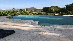 Villa with magnificent sea views close to Es Porroig