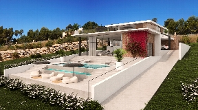 Newly built Villa for sale with nice views in Vista Alegre