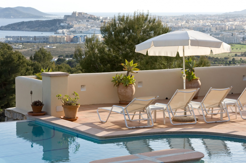 Extraordinary real estate for sale on the top of the city of Ibiza