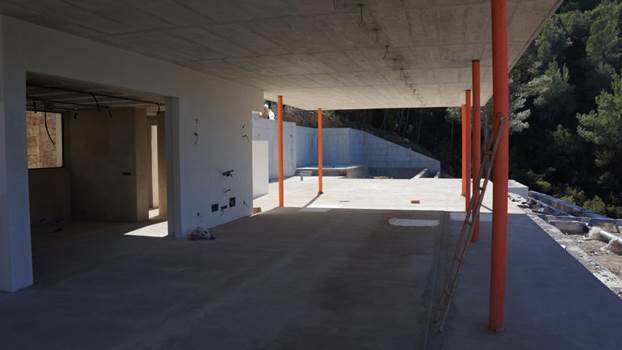 Sketchy construction for sale in San Jose on Ibiza