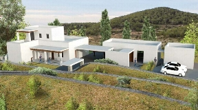 Rural farm with 22.250 m² land area for sale in Roca Lisa on Ibiza