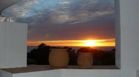 Fabulous terraced villa located on the west coast of the island near Calo d'en Real