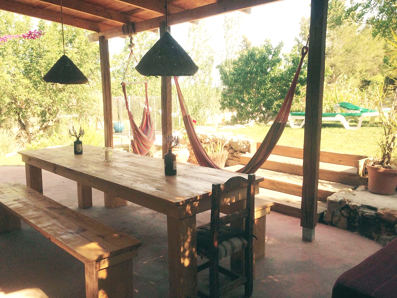Perfect 150-year-old finca situated on the top of a hill near San Rafael
