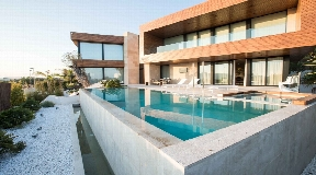 Ultra modern real estate with exceptional architecture in Talamanca