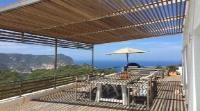 Dream villa with breathtaking sea and sunset views in San Miguel for sale