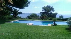 Superb 3 bedroom villa for sale in Es Cubells with nice views