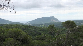 Nice plot with panoramic views Can Furnet for sale