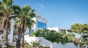 Beautiful townhouse in Cala Vadella Ibiza walking distance to the beach
