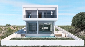 Newly built modern villa in Jesus for sale
