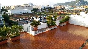 Superb penthouse in Santa Eulalia for sale