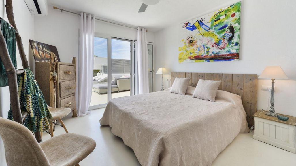 Modern unique villa situated in the North Est of the island Ibiza in Cala San Vicente
