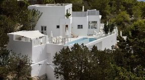 Modern unique villa situated in the North Est of the island Ibiza in Cala San Vicente