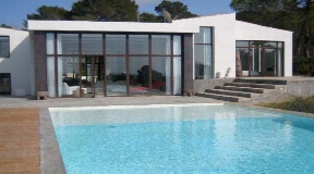 Amazing villa with nice sea views in Cala Tarida for sale