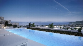 Luxurious villa with open views to Ibiza for sale