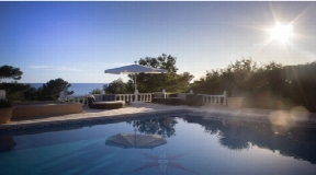 Villa in Cala Codorar with sea view and sunset for sale