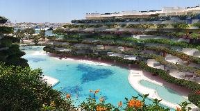 Wonderful luxury penthouse apartment in Las Boas on Ibiza for sale