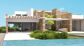 New built luxury real estate in Cala Conta