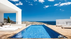 Stunning sea view modern stylist villa in Roca Llisa for sale