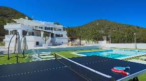 Modern Villa in Sa Carroca with stunning views to the sea and Dalt Vila
