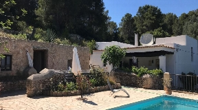 Rural finca on a hill in a very peaceful situation in San Agustin