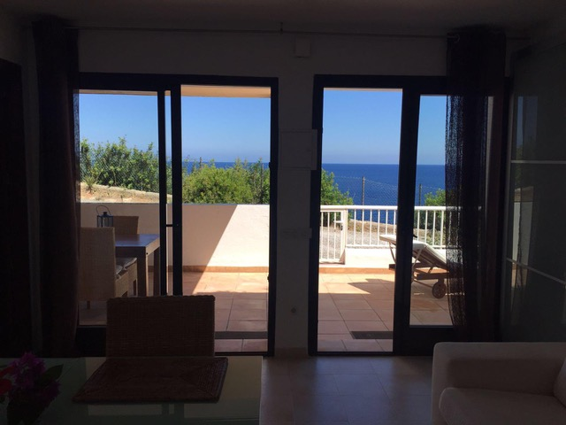 Frontline villa with sea views situated near Cala Llenya for sale