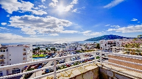 Amazing Penthouse with nica sea views in Santa Eulalia for sale