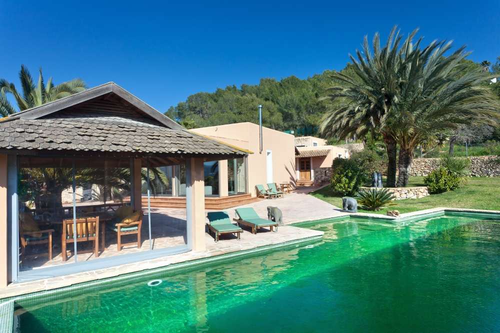Amazing finca with fantastic pool area in Ibiza for sale
