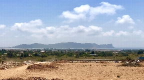 Superb 18.000 m2 Plot for sale with views near Sa Caleta  and license to build