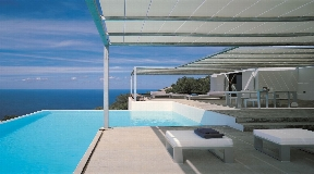 Nice Minimalistic villa for sale in the north of Ibiza with ocean views