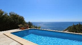 Amazing villa for sale with fantastic views in Es Cubells
