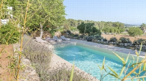 Finca for sale near Santa Gertrudis with fantastic views