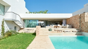 Nice Luxury development in Cala Comte including 15 luxury houses
