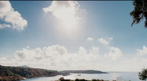 Frontline land for sale with License and nice sea views