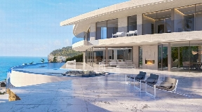 Amazing spectacular frontline villa for sale