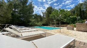 Nice newly rebuilt villa near to the city of Ibiza