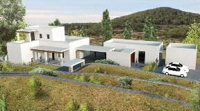 Rustic farm with a land area of 22.250m in Ibiza with Licence