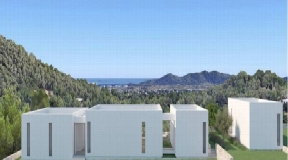 15.000 m2 huge plot with nice modern project with best views for sale