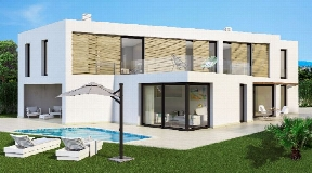 647 m2 urban land with a villa of 305m2 in Jesus Ibiza for sale