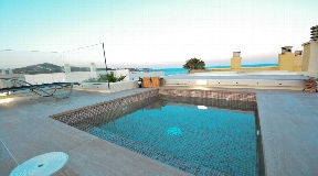 Superb semi-detached villa in Dalt Vila for sale